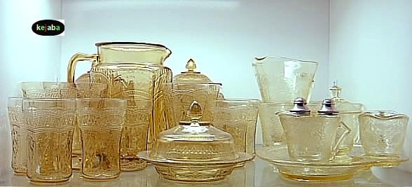 Depression Era 40s 40s 40s And Elegant Glass Patterns Interesting Depression Glass Patterns